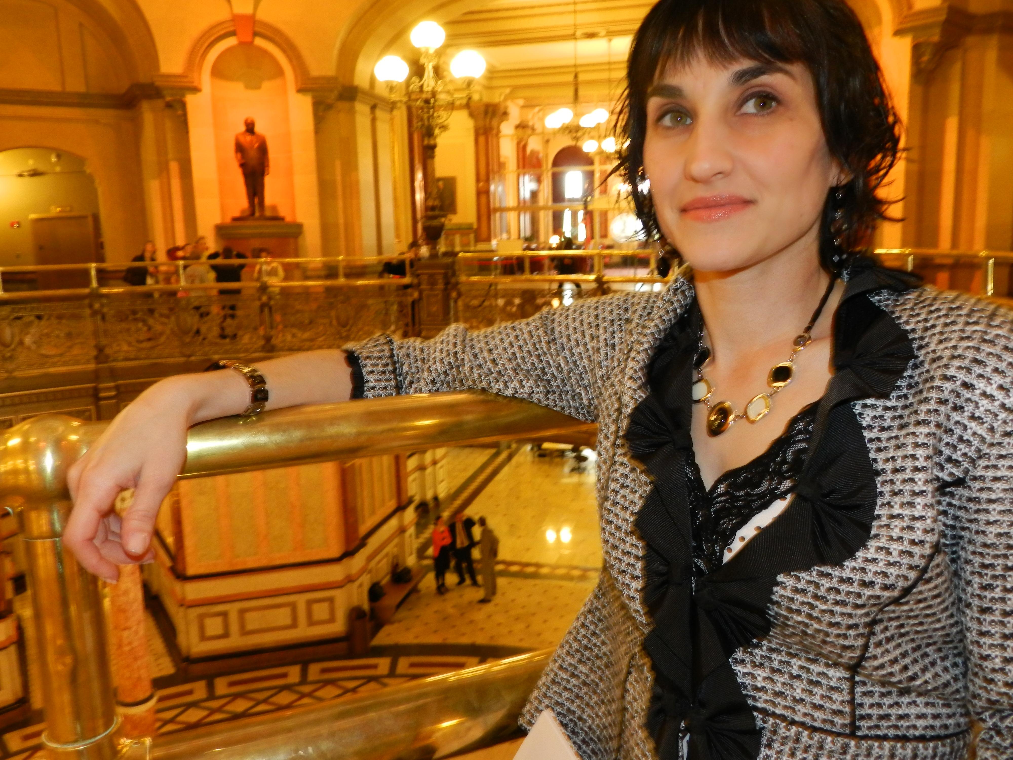 Illinois Alcoholism and Drug Dependence Associaiton CEO Sara Moscato ...